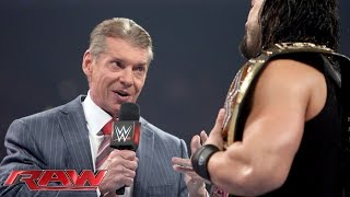 Mr. McMahon arrested: Raw, December 28, 2015