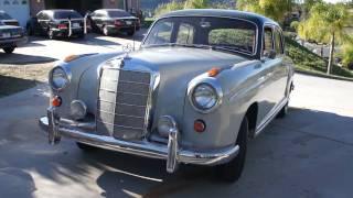 getlinkyoutube.com-1959 Mercedes Benz 220S W105 W180 Ponton W128 Investment