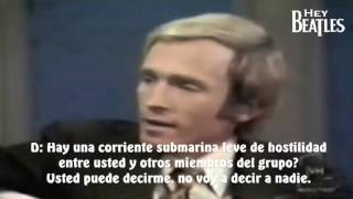 George Harrison en The Dick Cavett Show (Entrevista, PARTE 1)