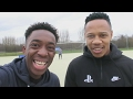 FOOTBALL CHALLENGES WITH NATHANIEL CLYNE!!!