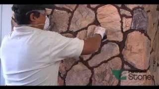 getlinkyoutube.com-Instalacion Perdura Stone tipo Irregular