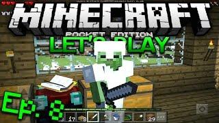 getlinkyoutube.com-Minecraft PE Survival Let's Play Ep. 8 - Shaders!?