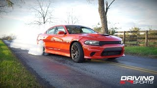 getlinkyoutube.com-2015 Dodge Charger Supercharged Hellcat Review + Epic Burnouts
