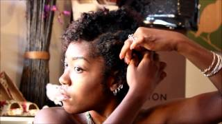 getlinkyoutube.com-Natural hair: My first braid out!