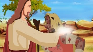 getlinkyoutube.com-Bible stories for kids - Jesus heals the Leper ( English Cartoon Animation )