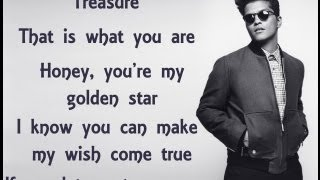 getlinkyoutube.com-Treasure - Bruno Mars (Lyric Video)