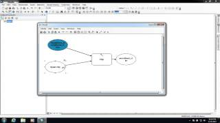 Creating a simple Model in ArcMap