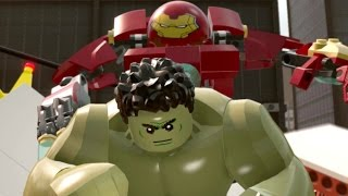 getlinkyoutube.com-LEGO Marvel's Avengers Walkthrough Part 9 - Anger Management (Hulk Vs. Hulkbuster Fight)