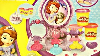 getlinkyoutube.com-Amulet and Jewels Vanity Set / Magiczne Klejnoty Zosi - Sofia the First - Play-Doh - A7399
