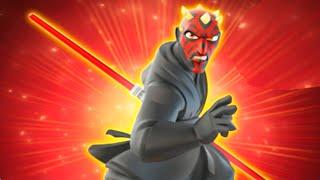 getlinkyoutube.com-Disney Infinity 3.0 All Darth Maul Skills & Abilities Free Roam Gameplay / Showcase