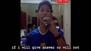 Jay-R Siaboc - May Tama rin ako English Version Parody