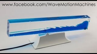 getlinkyoutube.com-Custom White Base Lava Wave Motion Machine