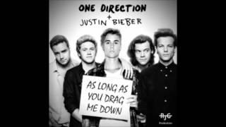 getlinkyoutube.com-One Direction   Justin Bieber  As Long As You Drag Me Down Mashup