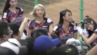 getlinkyoutube.com-台湾プロ野球ラミゴモンキーズの応援がもの凄い盛り上がり♪楽しすぎwラミガールズがカワイイッ♥