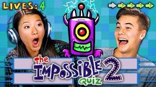 getlinkyoutube.com-THE IMPOSSIBLE QUIZ 2 (REACT: Gaming)