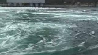 getlinkyoutube.com-Whirling Waves in Naruto Strait / 咸臨丸で行く鳴門海峡の観潮