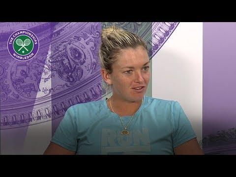 Coco Vandeweghe Wimbledon 2017 third round press conference
