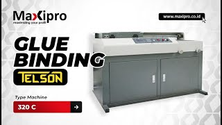 Mesin Glue Binding - www.maxipro.co.id