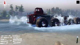 getlinkyoutube.com-Spintires 2014 - Biggest Monster Truck #1- Mod Pc {HD}