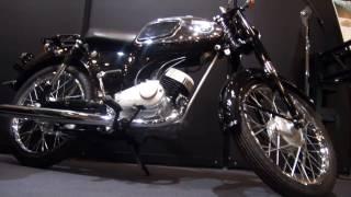 getlinkyoutube.com-Kawasaki 125 B8(1964年) 空冷2ストローク単気筒 Kawasaki Good Times World カワサキワールド 神戸海洋博物館