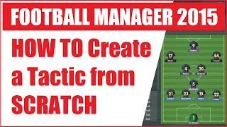 getlinkyoutube.com-HOW TO Create a Tactic from SCRATCH on Football Manager 2015