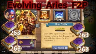 getlinkyoutube.com-F2P Evolving Aries Castle Clash