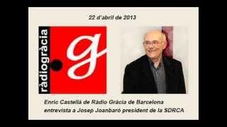 Entrevista de Ràdio Gràcia a Josep Joanbaró