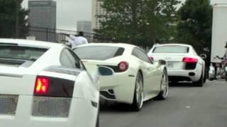 getlinkyoutube.com-Akon Cars to V103 Car Show