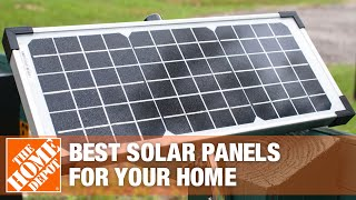 A video about how to choose solar panels.