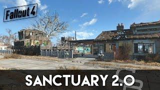 getlinkyoutube.com-Fallout 4 - Sanctuary 2.0 (Sanctuary Settlement Overview)