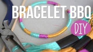 getlinkyoutube.com-DIY - Faire des Bracelets avec des piques à brochettes
