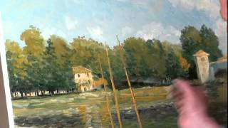 getlinkyoutube.com-Уроки живописи для взрослых в Москве, Санкт-Петербурге, Киеве, художник Игорь Сахаров