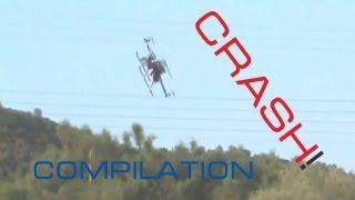 getlinkyoutube.com-QUADCOPTER CRASH Compilation! -  2012