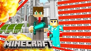 getlinkyoutube.com-Minecraft - EPIC MEGA TNT EXPLOSIONS!!! Minecraft TNT Explosion! (Funny Minecraft Gameplay)