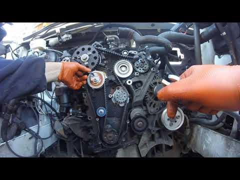 Как установить  ГРМ VW Crafter 2 0 tdi \ How to install a timing belt Volkswagen Crafter 2 0 tdi
