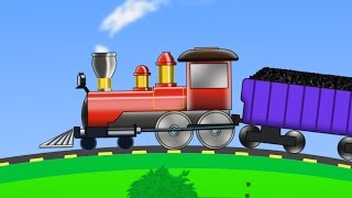 getlinkyoutube.com-Train | Uses Of Train | kids videos | kids train | learn transports