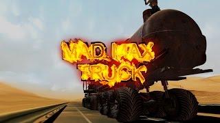 getlinkyoutube.com-Doof Wagon - Mad Max Fury Road in ETS 2 Mod - Monster Rock Fire Valhalla Ride