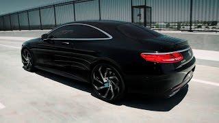 "getlinkyoutube.com-Mercedes Benz S550 4MATIC Coupe 22"" Lexani Wheels"