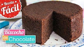 Bizcocho de chocolate IRRESISTIBLE   Receta fácil   Quiero Cupcakes!