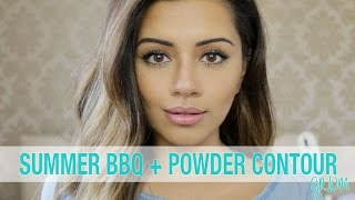 getlinkyoutube.com-GRWM | BBQ GRWM + Powder Contour Tutorial ad | Kaushal Beauty