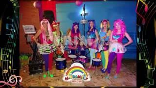 getlinkyoutube.com-SHOW INFANTIL - EQUESTRIA GIRLS - RAINBOW ROCKS CON LAS SIRENAS