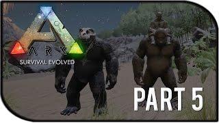 "getlinkyoutube.com-ARK: Survival Evolved Gameplay Part 5 - ""TAMING A GIGANTOPITHECUS/TAMED 2 GIGANTOS"" (Season 2)"