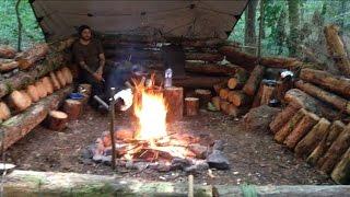 getlinkyoutube.com-WILD WOODLAND HAMMOCK CAMP - 2 nights