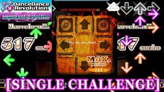 getlinkyoutube.com-【DDR 2014】 MAX.(period) [SINGLE CHALLENGE] 譜面確認+クラップ