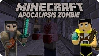 getlinkyoutube.com-Minecraft Apocalipsis Zombie #1 ¿Donde esta la fiesta? xD Con Rabahrex