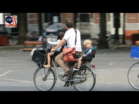 Cycling with babies and toddlers in The Netherlands