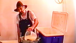 getlinkyoutube.com-Tennessee Hillbilly Shows how to Make Moonshine at Home