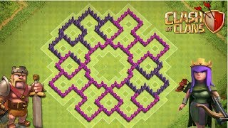 getlinkyoutube.com-Clash of Clans TH8 Farming Base - The Gizmo