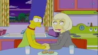 getlinkyoutube.com-Lady Gaga on The Simpsons | Behind The Scenes | Interscope