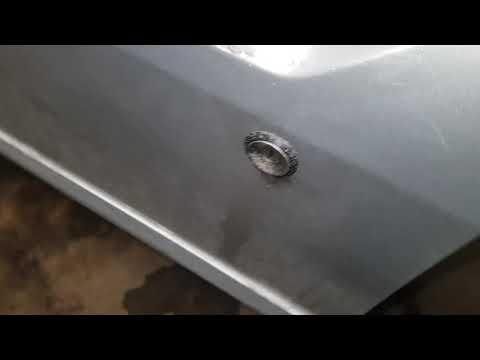 Ховер замена дверной ручки и снятие дверной личинки